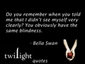 Twilight quotes 321-331 - bella-swan fan art
