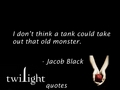 Twilight quotes - jacob-black fan art