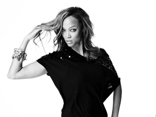 Tyra Banks by Brooke Nipar
