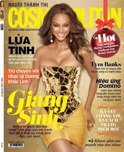Tyra Banks for COSMOPOLITAN Vietnam