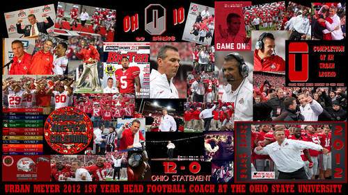 Urban Meyer's 1st 年 as head coach at OSU