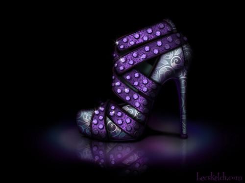 Ursula inspired shoe