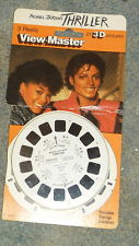 "View Master ""Thriller"" 3-D تصویر Reels"