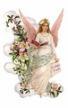 Vintage Christmas Angel From Germany - vintage fan art