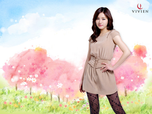 Shin Se Kyung wallpaper probably with a koktil, koktail dress titled Vivien