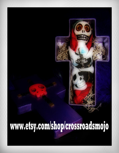 Voodoo Doll and Coffin