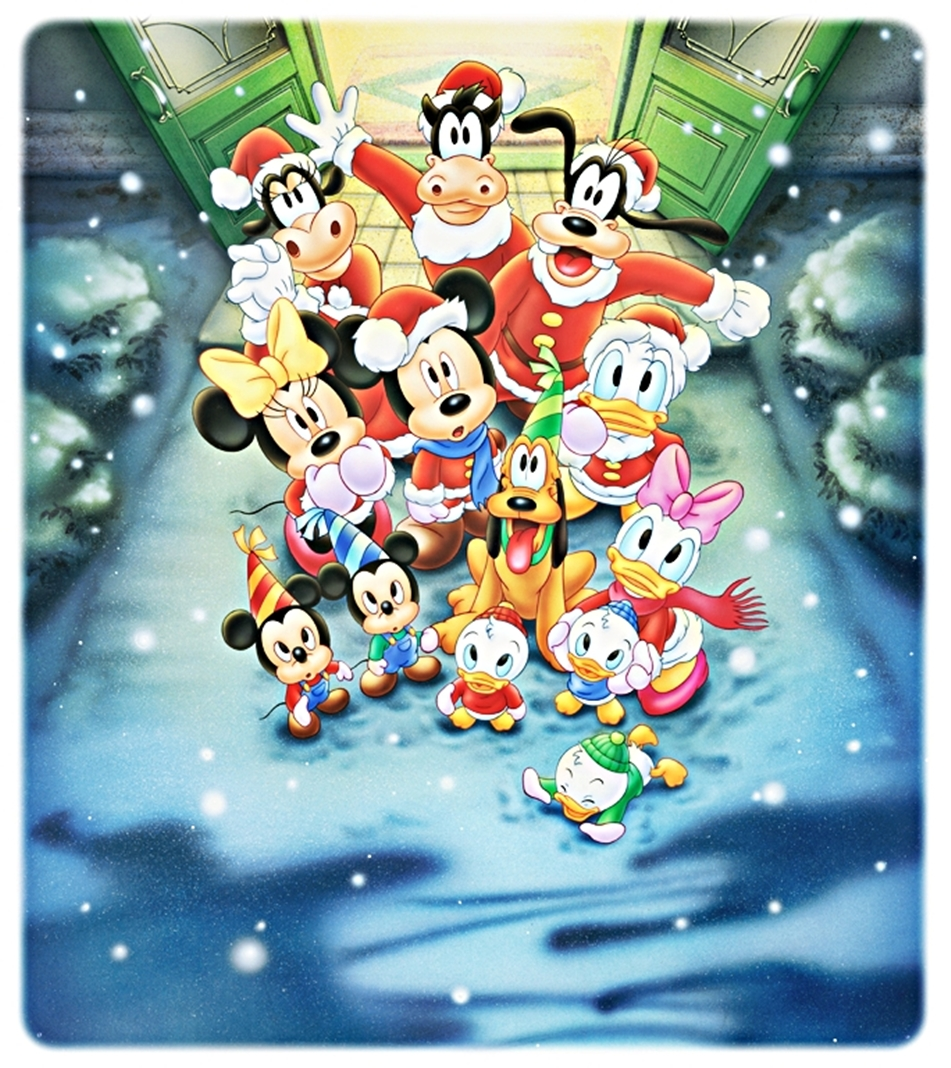 walt disney characters images walt disney pictures a surprise for christmas hd wallpaper and background photos - Disney Christmas Characters