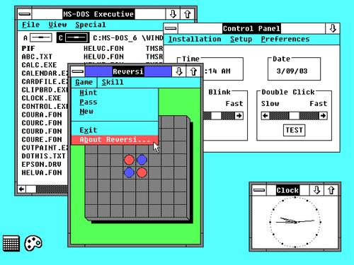 Windows 2.0 screenshot