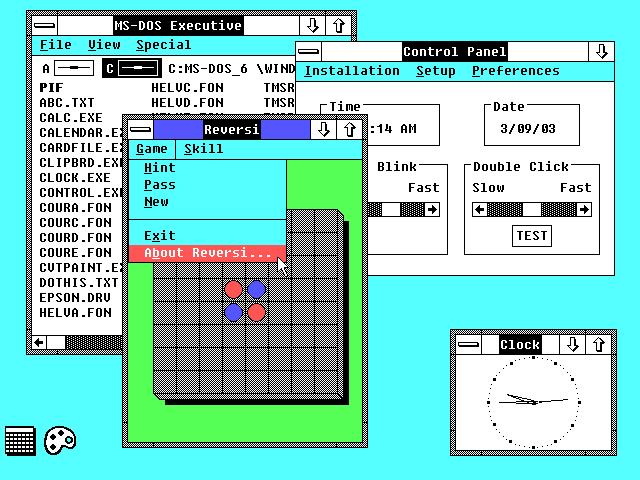 Windows 2.0 screenshot - Micro...