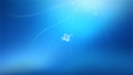Windows 7 blue wallpaper
