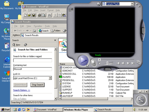 Windows ME screenshot