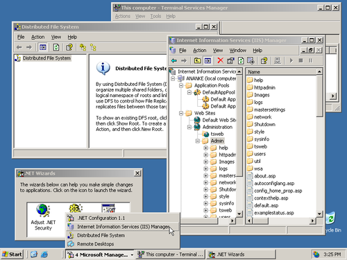 Windows Server 2003 screenshot