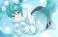 Winter Miku - vocaloids fan art