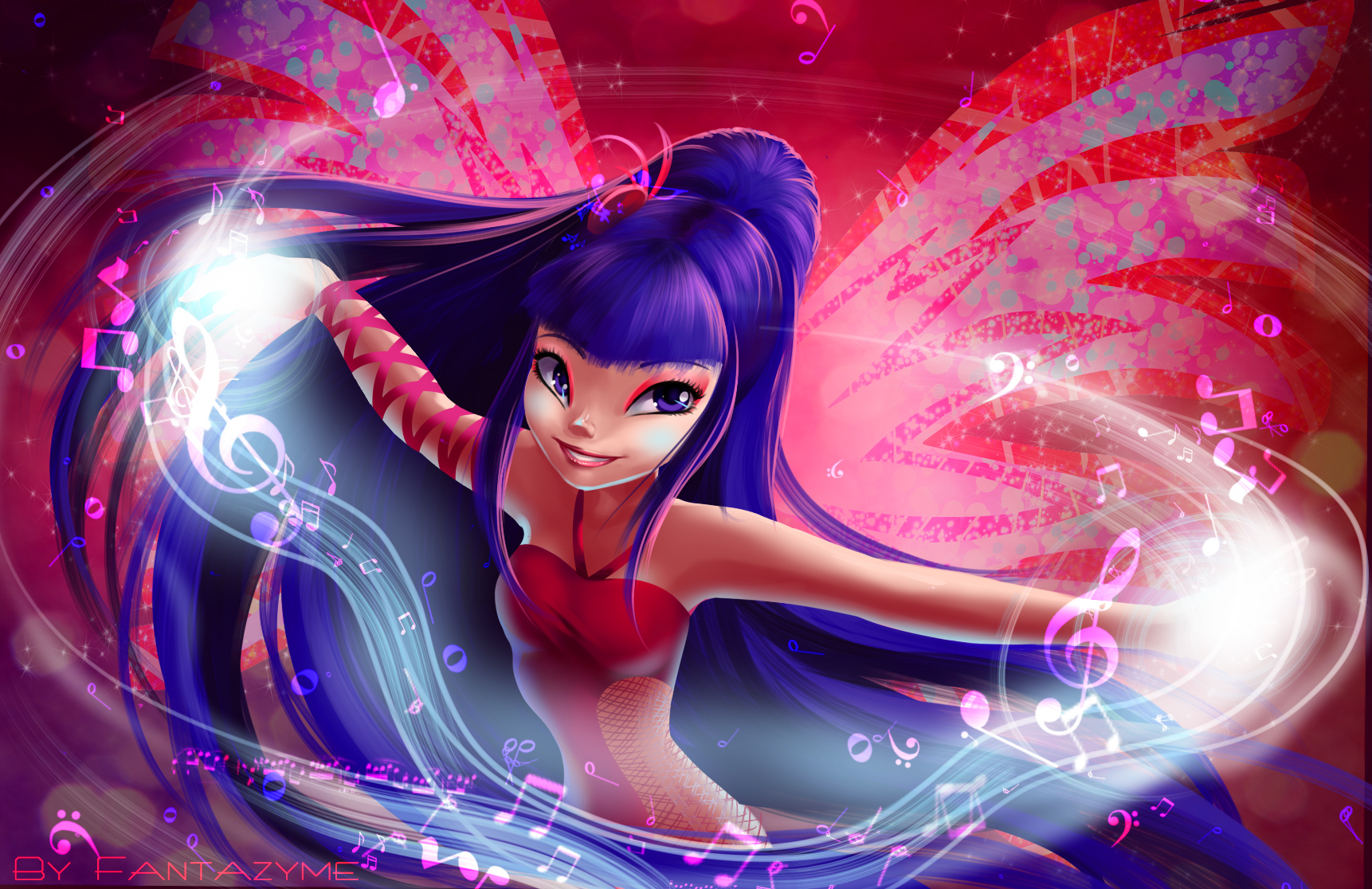 Winx club Musa Sirenix power\Винкс 5 сезон Муза Сиреникс