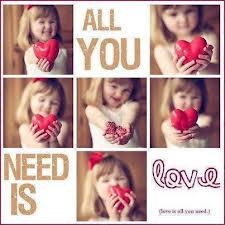 all te need is Amore