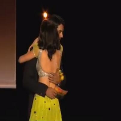 arshi @ তারকা parivaar award লন্ডন 2012