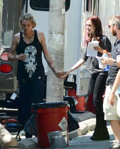 city of bones in set
