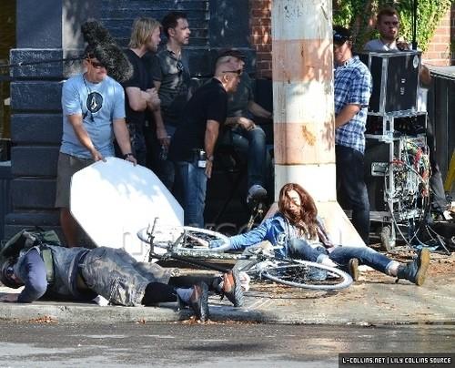 city of Bones in set