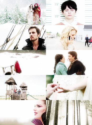 color meme | once upon a time → white