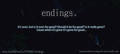 endings. fanfction story facebook cover  - damon-and-bonnie fan art
