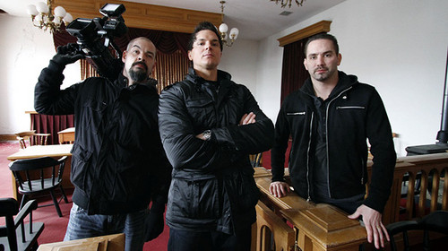 Ghost Adventures wallpaper possibly containing a packing box and a lectern entitled ghost adventures