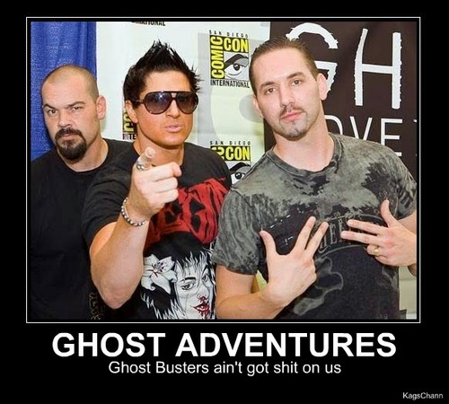 Ghost Adventures wallpaper probably containing a green beret called ghost adventures