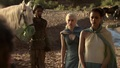 Daenerys Targaryen and the translator Missandei - game-of-thrones photo