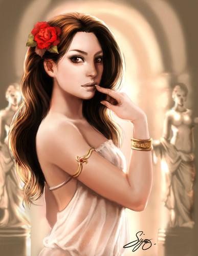 greek goddesess
