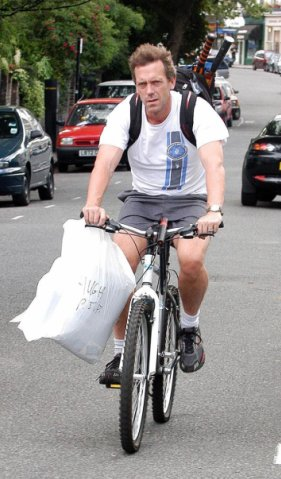 hugh laurie bike