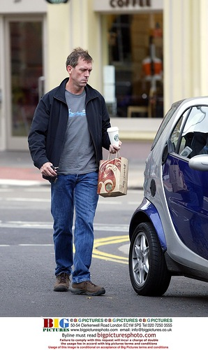 hugh laurie starbucks coffee