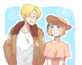 hurraaay new couple(?) - hetalia-couples photo