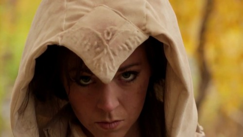 Lindsey Stirling wallpaper probably with a hood, a cloak, and a wimple called lindsey stirling