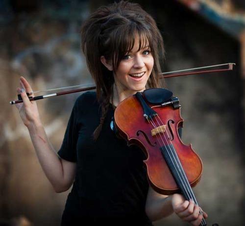 Lindsey Stirling wallpaper possibly with a violist entitled lindsey stirling
