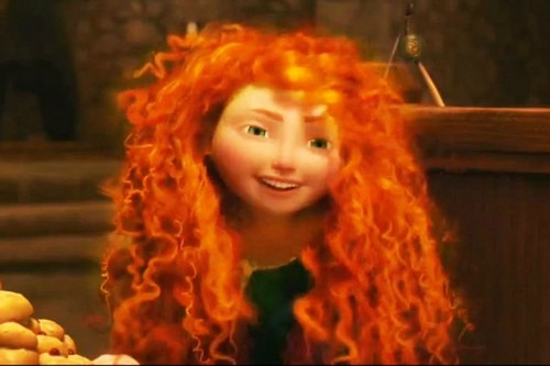 merida with blonde hair