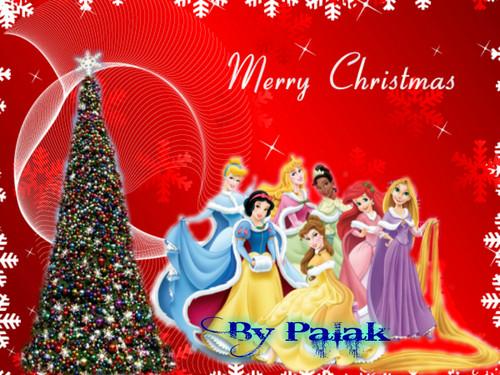 princess winter christmas