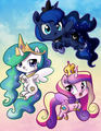 princesses of equestwia