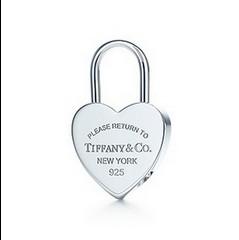 return to tiffany دل lock charm