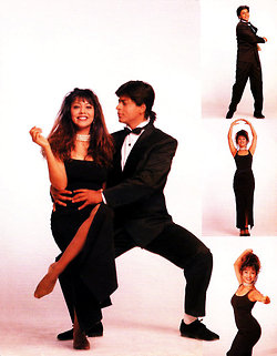 "shahrukh & gauri ""Vintage Photoshoot 1994"" - shahrukh-khan Photo"