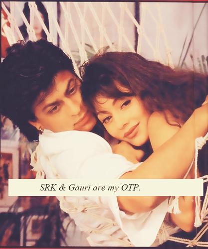shahrukh khan & Gauri ^^