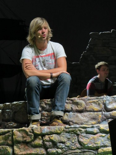 Keith Harkin wallpaper with a stone wall and a dry wall called soundchecks