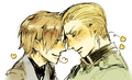 you better kiss or someone will die - hetalia-gerita photo