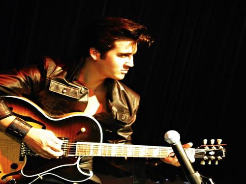 Elvis Presley wallpaper containing a guitarist called ★ Elvis ☆