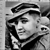 Elvis Presley foto containing a green beret called ★ Elvis ☆