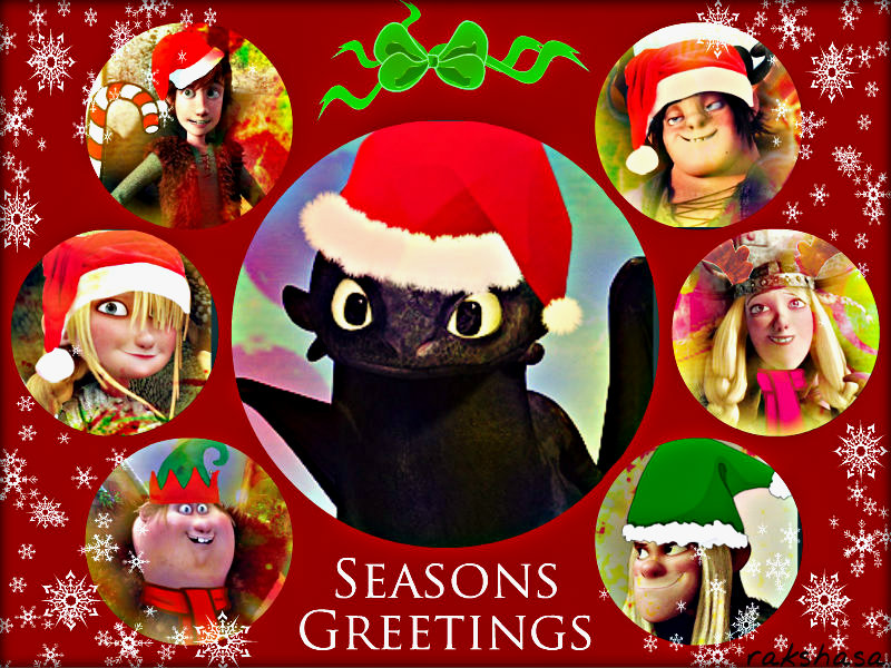 how to train your dragon images httyd merry christmas hd wallpaper and background photos - How To Train Your Dragon Christmas