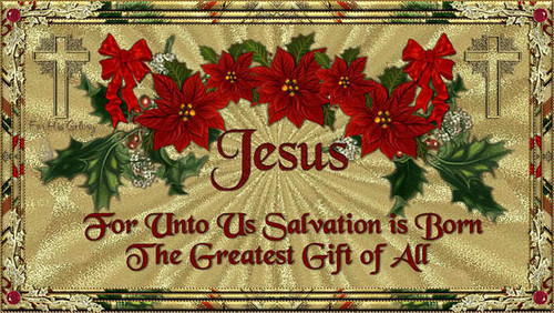 *Jesus is the Reason For The Season*