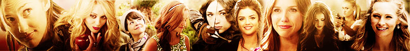 » female characters banner «