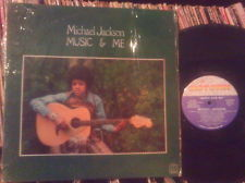 """1973 Motown Release, """"Music And Me"""", On 33 1/2 LP"""