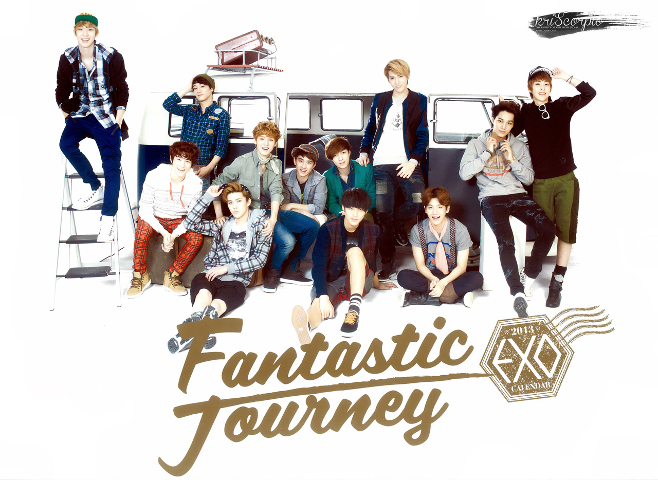 Exo M Images 2013 Calendar Hd Wallpaper And Background Photos 33084761