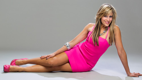 Lilian Garcia wallpaper possibly with a chemise and a bustier called 25 Days Of Divas