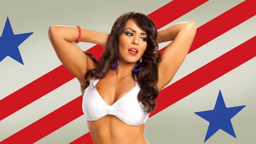 WWE LAYLA پیپر وال probably containing a bikini titled 25 Days Of Divas